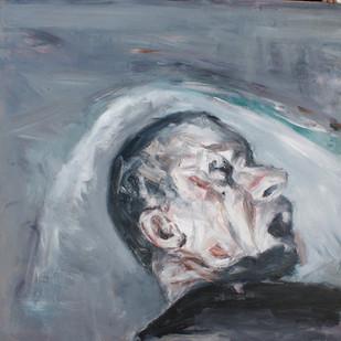 Johann Louw   Kop   2013   Oil on Plywood   122 x 123 cm