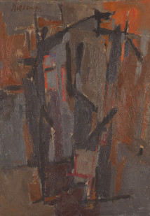Nel Erasmus | Painting No 2 | c. 1961 | Oil on Board | 47 x 33 cm