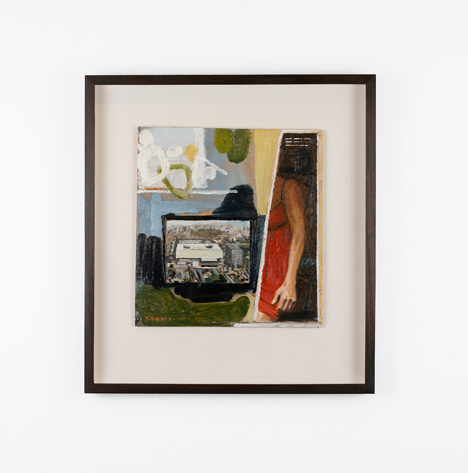 Simon Stone | Arm | 2020 | Oil on Cardboard | 32.5 x 30.5 cm