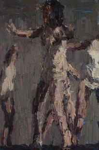 Anton Karstel | watch (2) | 2013 | Oil on Canvas | 60 x 40 cm
