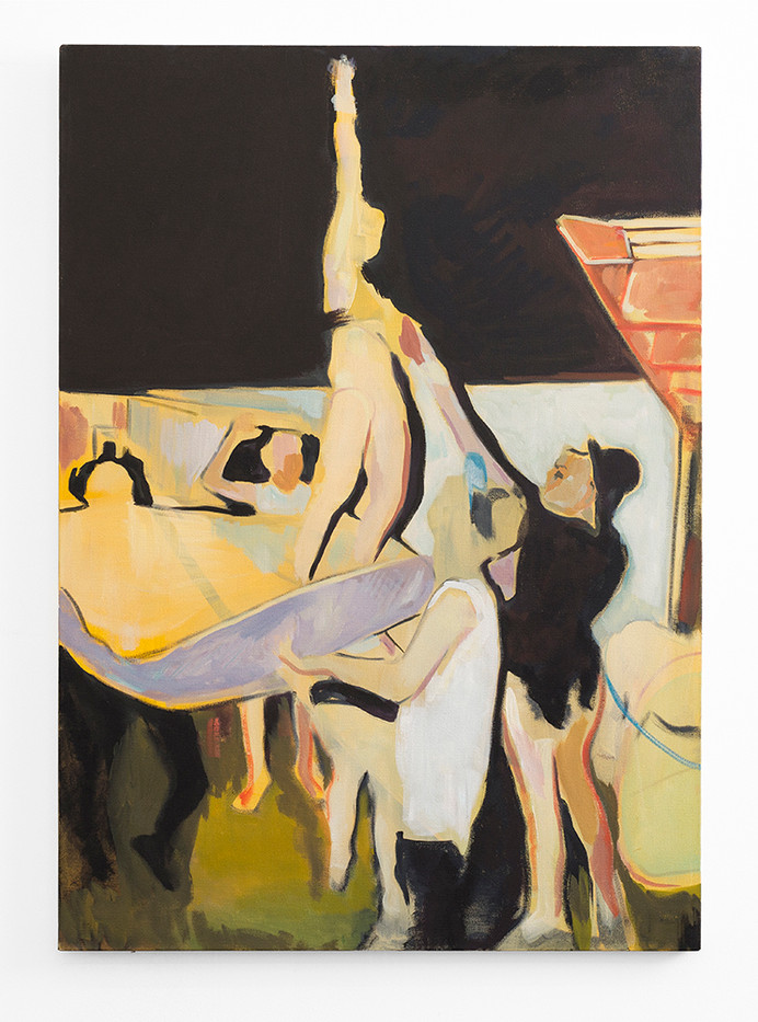 Kate Gottgens | Free-Born | 2016 | Oil on Canvas | 120 x 80 cm