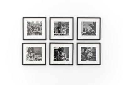 Lhola Amira | Being Lhola Amira I - VI | 2016 | Giclée Black and White Print on Hanhemühle German Etching Paper | 31 x 33 cm Each | Edition of 3 + 2 AP