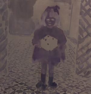 Kate Gottgens | Wandering Spirit | 2015 | Oil on Canvas | 80 x 78 cm