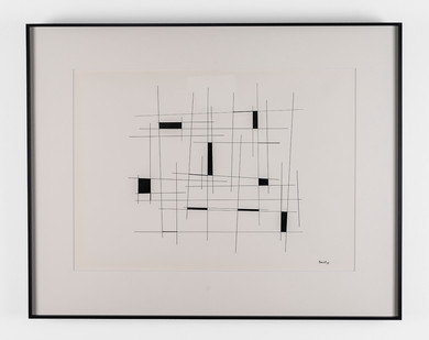 Albert Newall | Untitled | 1955 | Ink on Paper | 33.5 x 46 cm