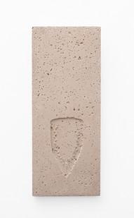 Usha Seejarim | Pressed 07 | 2021 | Cement | 57 x 23 x 3 cm