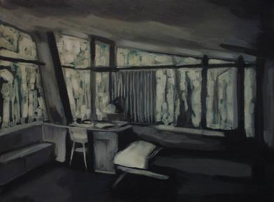 Kate Gottgens | Petty Crime III | 2012 | Oil on Canvas | 30.5 x 40.5 cm