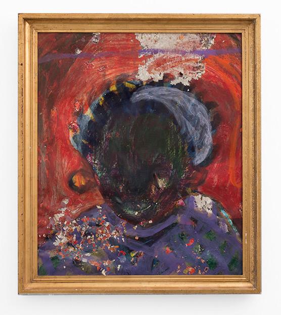 Mostaff Muchawaya   Tinatsei   2017   Acrylic on Canvas   92 x 77 cm