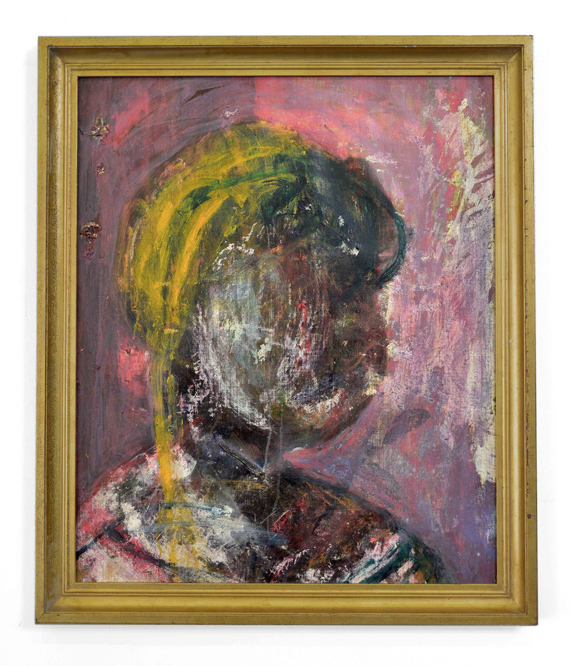 Mostaff Muchawaya | Ndaikuda | 2017 | Acrylic on Canvas | 104 x 88 cm