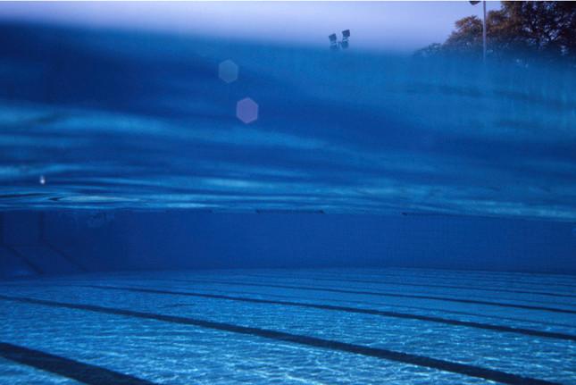 Abrie Fourie   Hillcrest Swimming Pool, Standard Olympic Pool, Hatfield, Pretoria, Gauteng, South Africa   2007   Lightjet Print Diasec   30 x 41 cm   Edition of 10