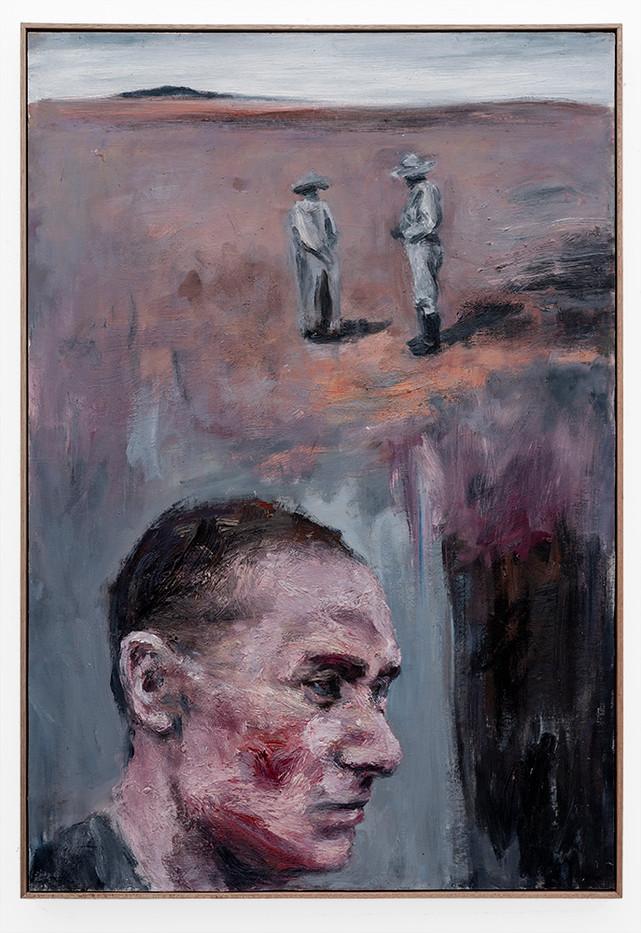 Johann Louw | Knersvlakte - Portret 1 | 2019 | Oil, Mounted Canvas on Panel | 119.5 x 82 cm