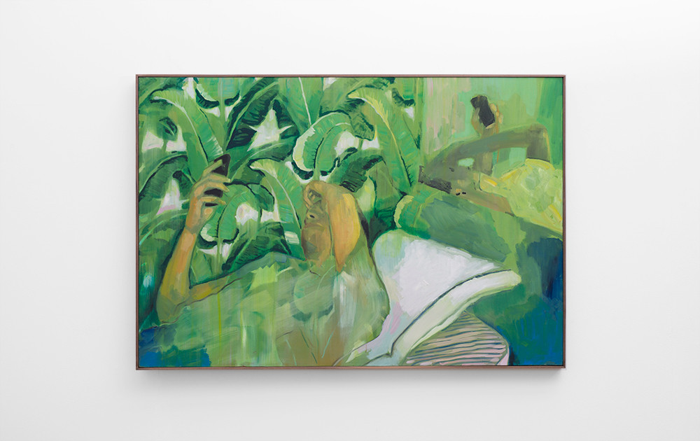 Kate Gottgens   Captive   2017   Oil on Canvas   100 x 150 cm