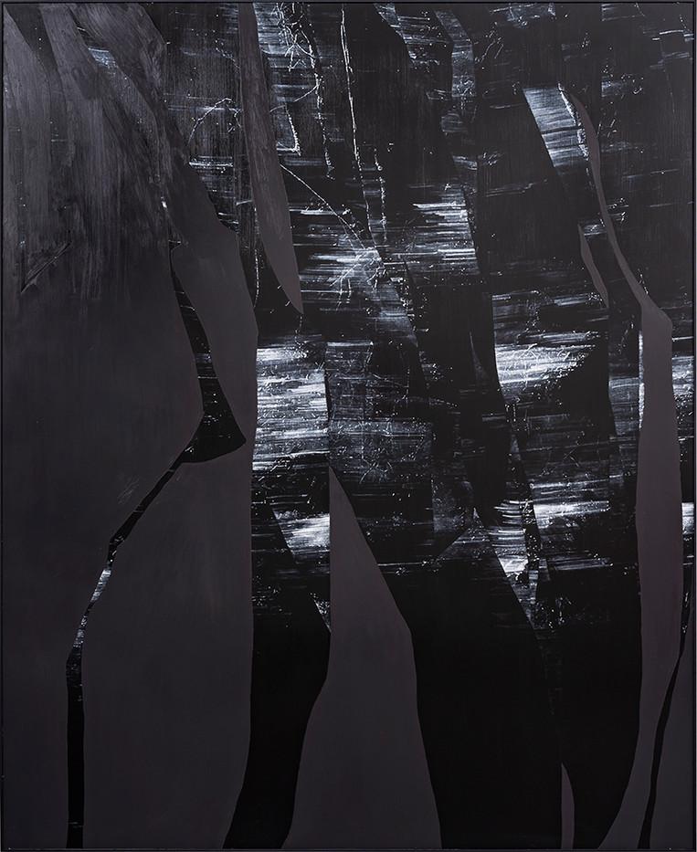 Peter Eastman   Broken Landscape II   2018   Oil on Aluminium   185 x 150 cm