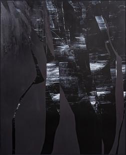 Peter Eastman | Broken Landscape II | 2018 | Oil on Aluminium | 185 x 150 cm