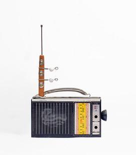 Cyrus Kabiru | Corona | 2020 | Steel and Found Objects | 39 x 26 x 5 cm
