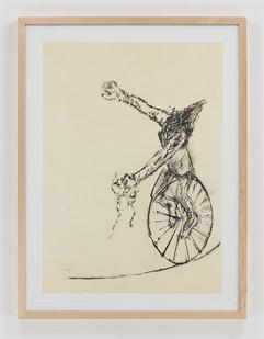 Albert Adams | Circus III | 2006 | Lithograph | 83 x 63 cm