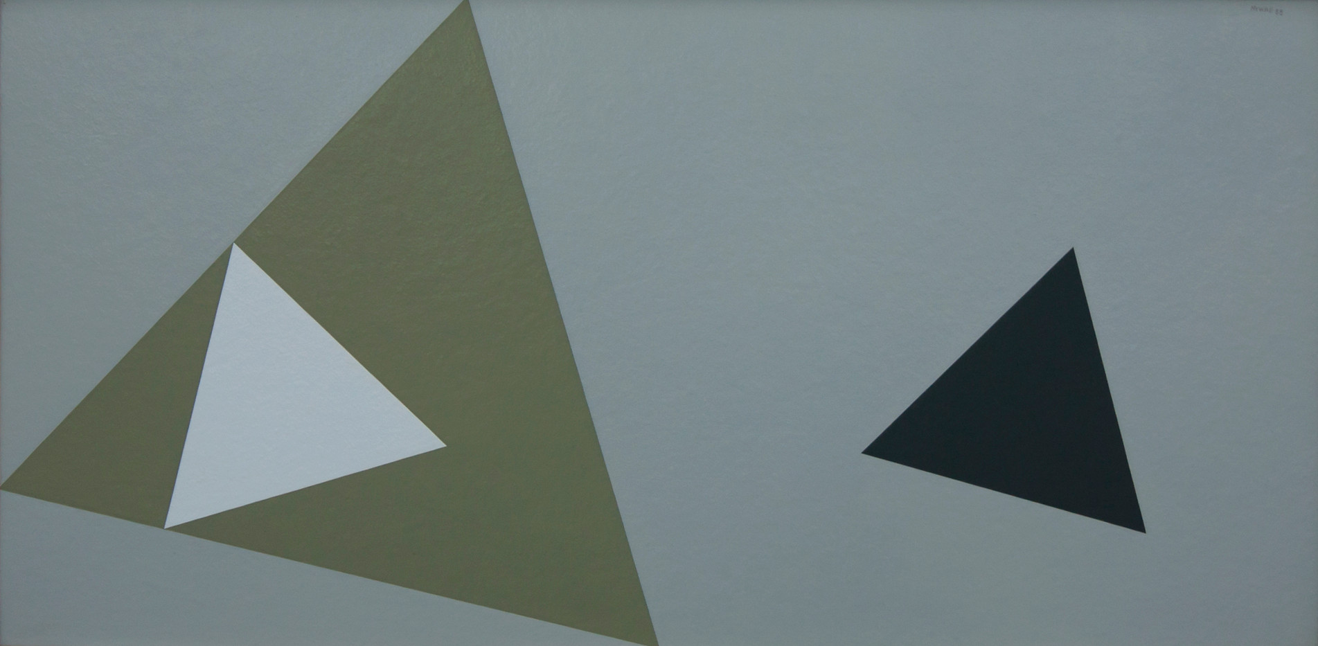 Albert Newall | Untitled | 1958 | Acrylic on Board | 44.5 x 90.5 cm
