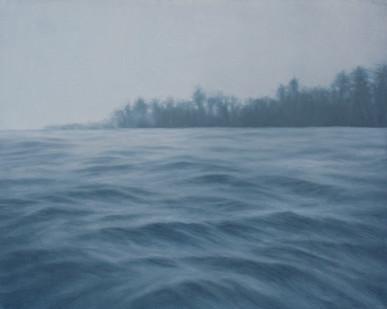 Jake Aikman   N10.87045, W85.90093   2012   Oil on Canvas   65 x 81 cm