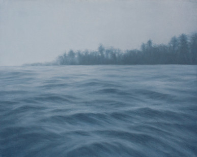 Jake Aikman | N10.87045, W85.90093 | 2012 | Oil on Canvas | 65 x 81 cm