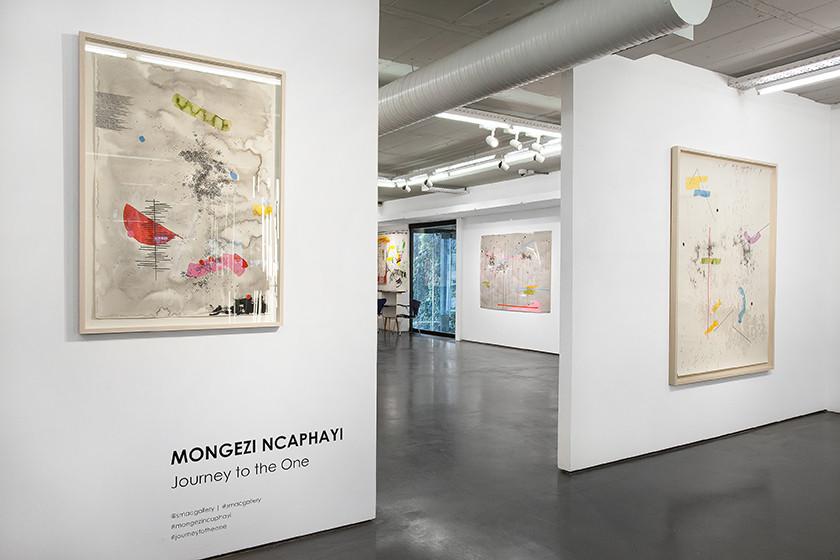 Mongezi Ncaphayi   Journey to the One   2016   Installation View