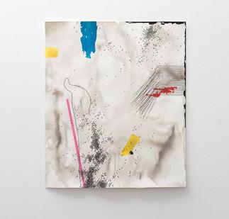 Mongezi Ncaphayi | Pathless Path II | 2017 | Indian Ink and Mixed Media on Paper | 99 x 83.5 cm