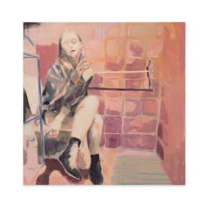 Kate Gottgens   Jasmine   2017   Oil on Canvas   95 x 95 cm