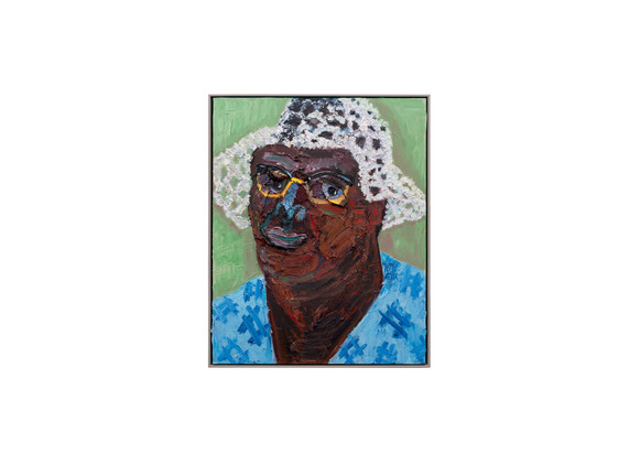 Georgina Gratrix | Gladys | 2020 | Oil on Canvas | 100 x 80 cm
