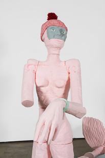 Marlene Steyn | muted fishwife (Detail) | 2019 | Polyurethane Resin | 163 x 150 x 200 cm