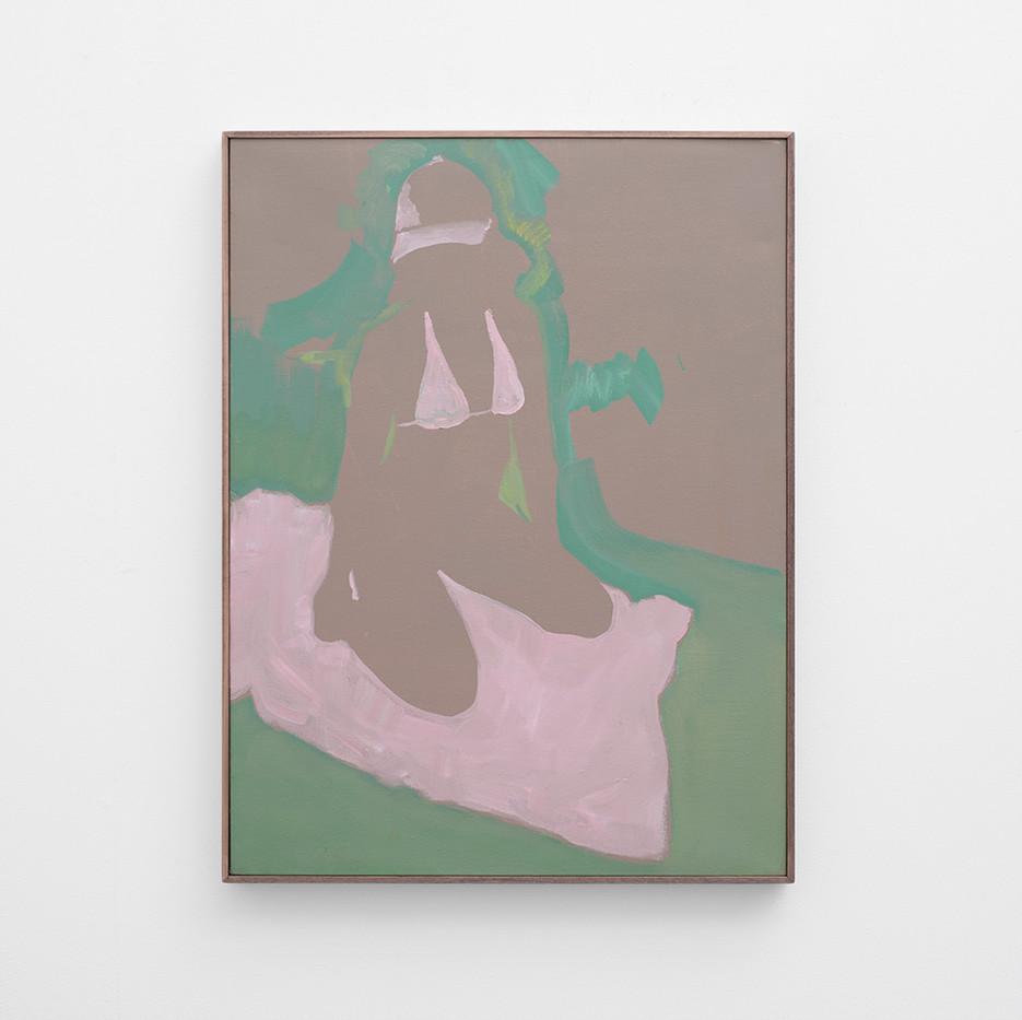 Kate Gottgens   Icecream   2017   Oil on Canvas   90 x 69 cm