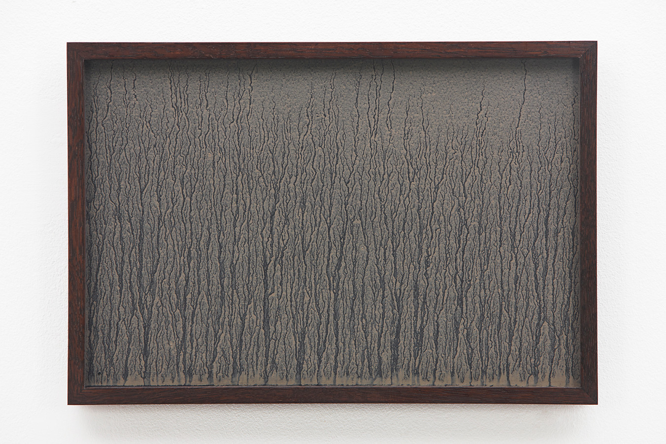 Richard Long | Untitled | 1989 | River Avon Mud on Black Card | 29 x 44 cm