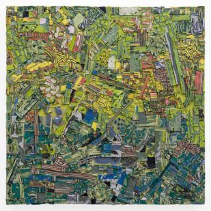 Gabrielle Kruger | Gradient | 2019 | Acrylic on Canvas Board | 60 x 60 cm