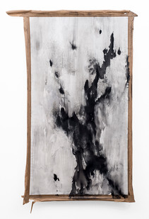 Alexandra Karakashian | Conditions Towards I | 2019 | Oil on Canvas | 157 x 103 cm