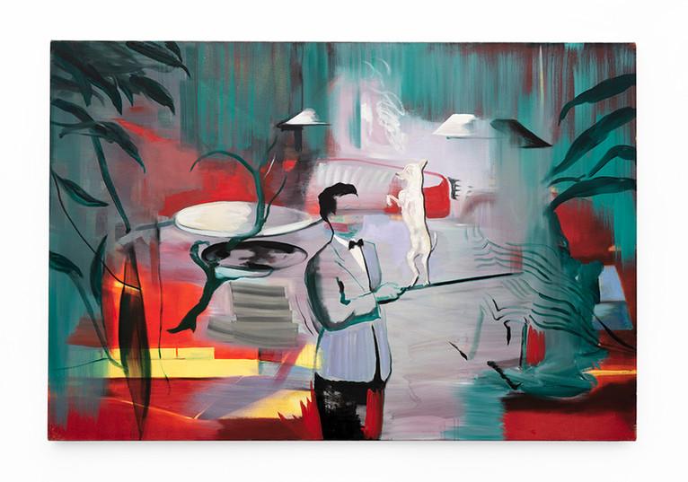 Kate Gottgens | Corpse Reviver | 2020 | Oil on Canvas | 102 x 150 cm