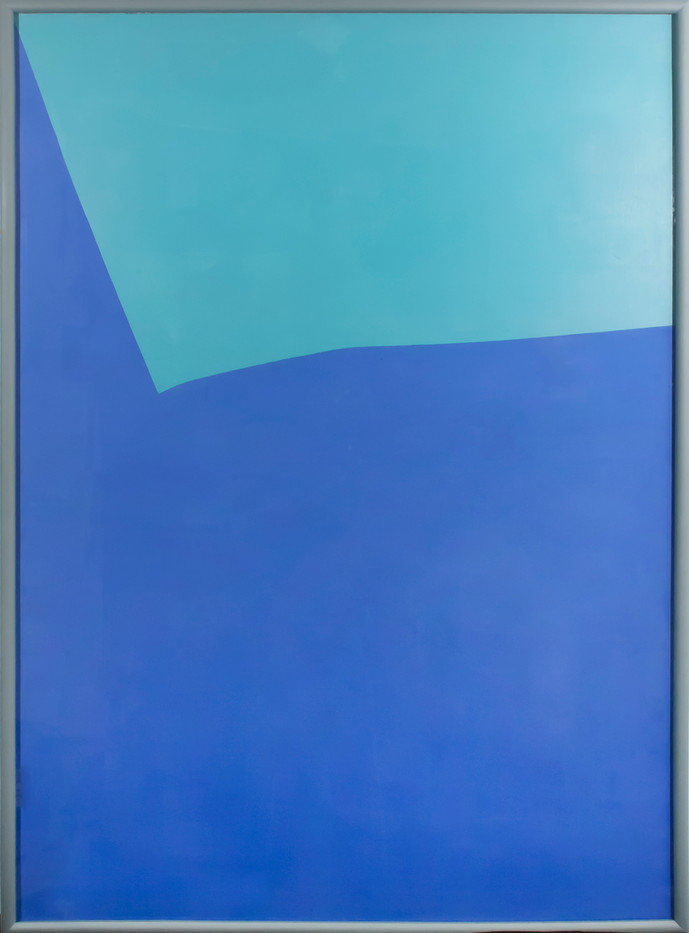 Helen A Pritchard   Untitled - Carrier 9   2013   Oil and Pigment on Canvas   140 x 100 cm
