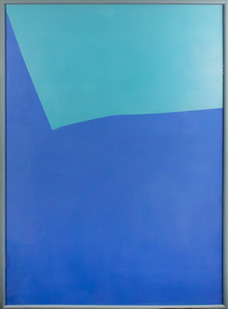 Helen A Pritchard | Untitled - Carrier 9 | 2013 | Oil and Pigment on Canvas | 140 x 100 cm