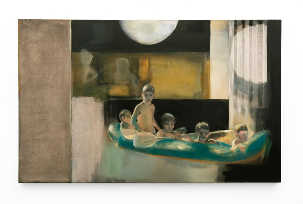 Kate Gottgens | Little Deaths | 2007 | Oil on Canvas | 100 x 160 cm