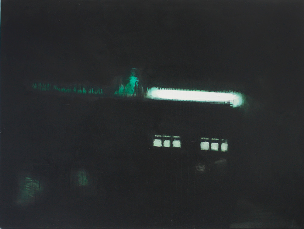 Mary Wafer   Asleep in the back   2009   Oil on Canvas   92 x 122 cm