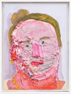 Georgina Gratrix | It me | 2019 | Oil on Canvas | 40 x 30 cm