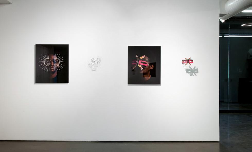Cyrus Kabiru | Macho Mbadala | 2017 | Installation View