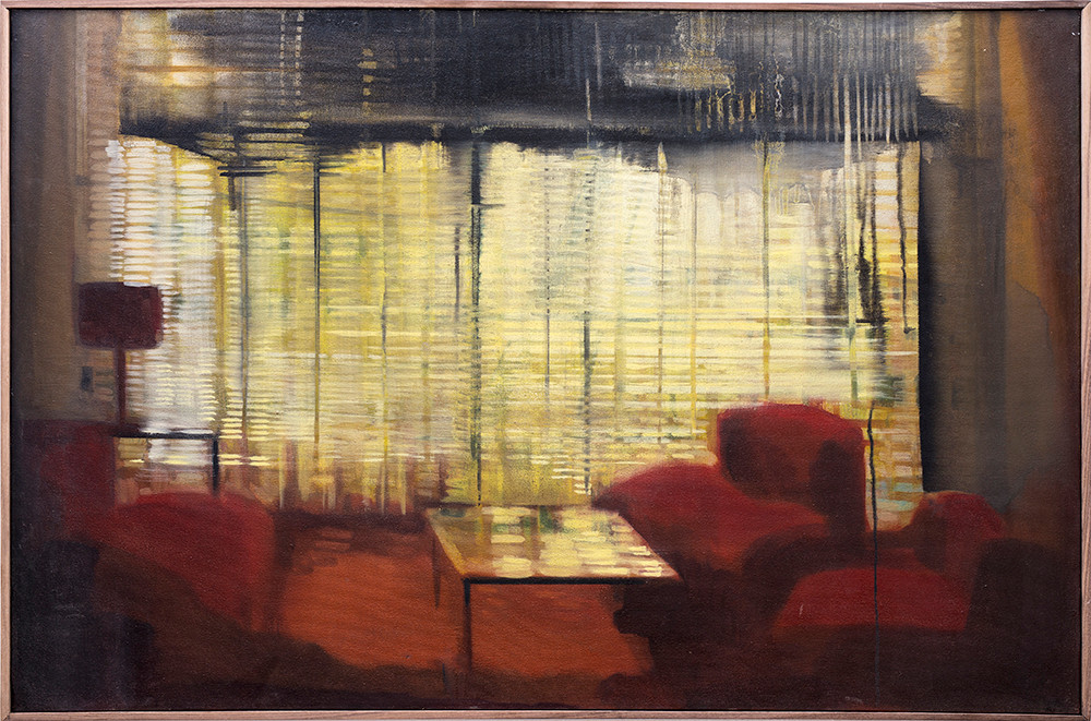 Kate Gottgens | Red Interior | 2012 | Oil on Canvas | 69 x 105 cm