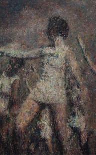 Anton Karstel | /1939-Glaube-und-Schoenheit (IV) | 2014 | Oil on Canvas | 190 x 120 cm