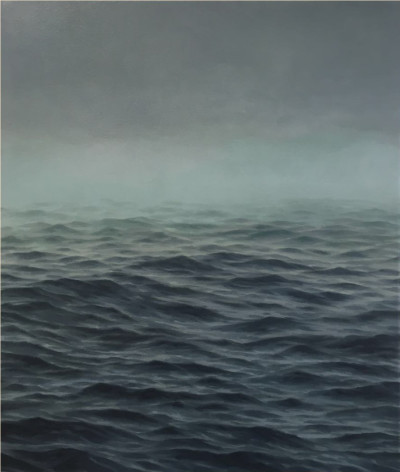 Jake Aikman   Disappear   2016   Oil on linen   60 x 40 cm