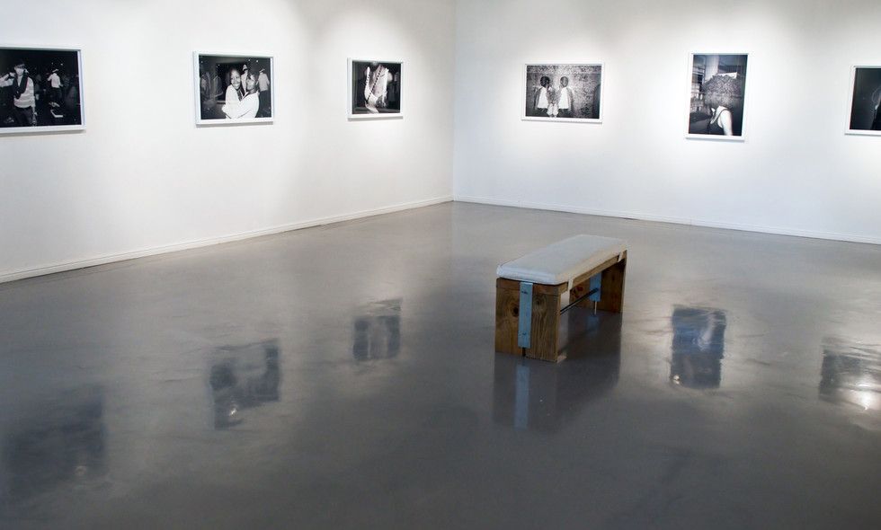 Musa N. Nxumalo | In Search of... | 2015 | Installation view