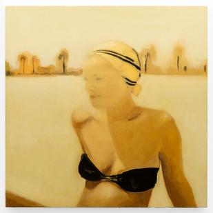 Kate Gottgens | The Distance #1 | 2019 | Oil on Canvas | 68 x 68 cm