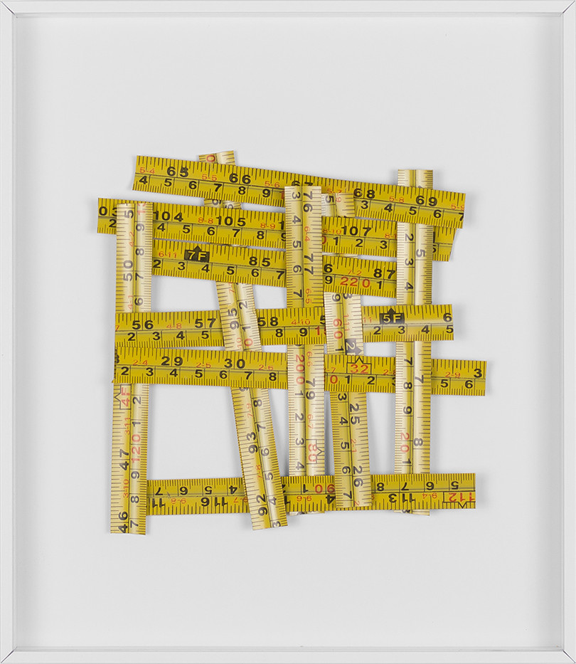 Ruann Coleman   Misobservation (cm)   2017   Measuring Tapes   27 x 23 cm