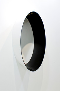 Helen A. Pritchard   Untitled - Carrier 23   2013   Steel and Enamel Paint   80 x 40 x 30 cm