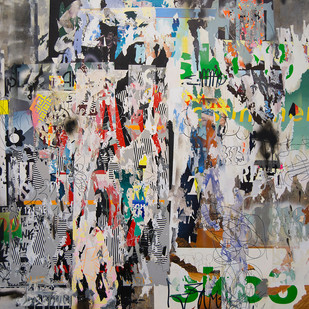 Asha Zero | DNHU | 2016 | Acrylic on Board | 150 x 150 cm
