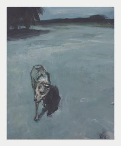 Johann Louw | Hond | 2013 | Oil on Board | 158 x 122 cm