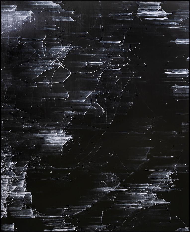 Peter Eastman   Tangled Hierarchies (Ironwood)   2019   Oil on Aluminium   185 x 150 cm