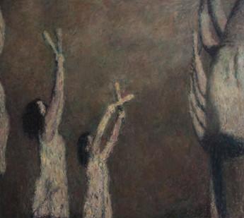 Anton Karstel | /1939-Glaube-und-Schoenheit (VII) | 2014 | Oil on Canvas | 170 x 190 cm