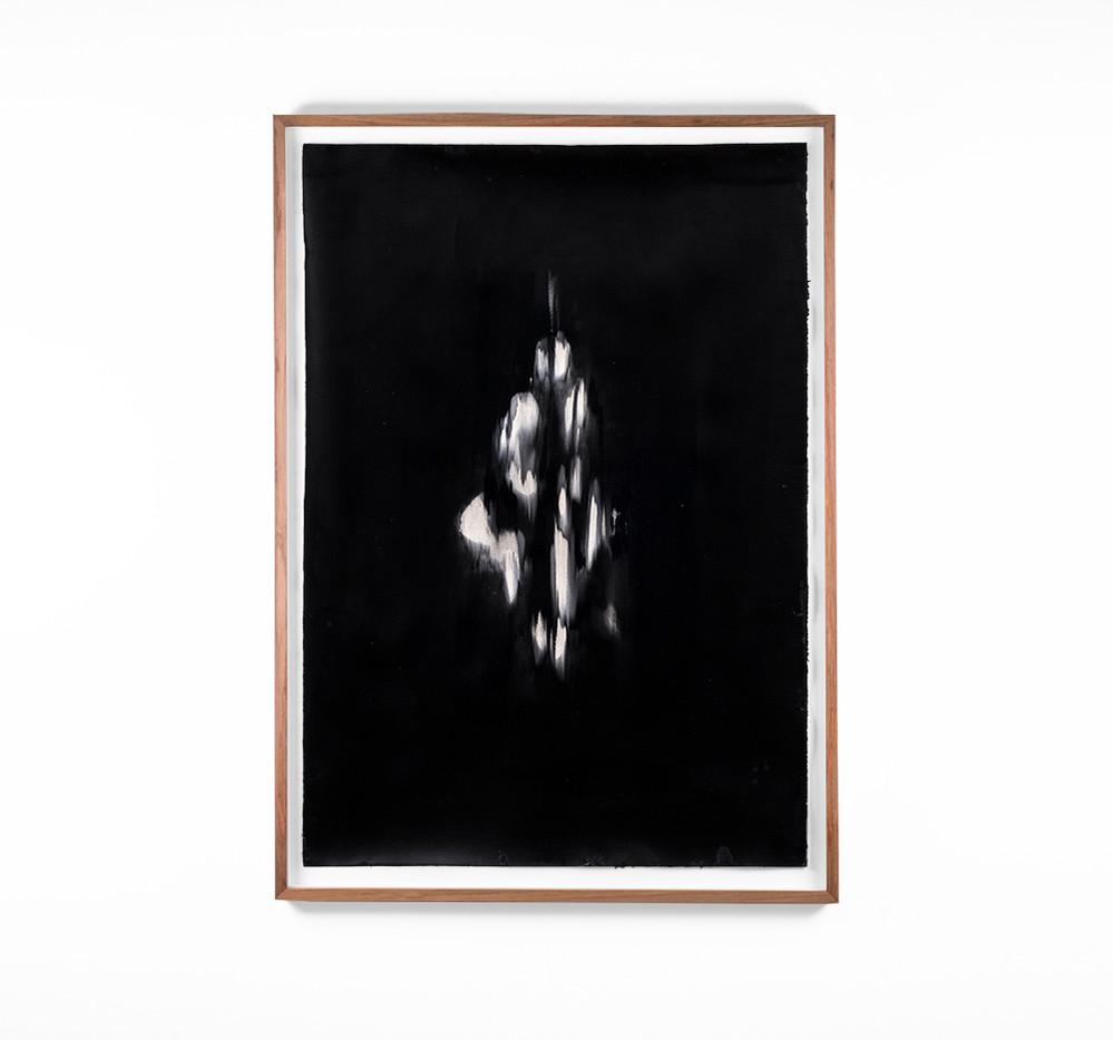 Alexandra Karakashian | Undying XLI | 2018 | Oil on Sized Paper | 99 x 70 cm